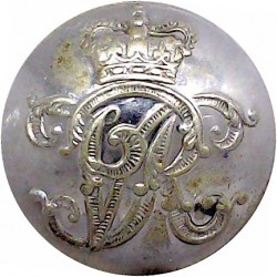 Royal Thames Yacht Club - Roped Rim 24mm King's Crown. Gilt Yacht or Boat Club jacket button