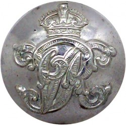Royal Southern Yacht Club - Roped Rim 17.5mm King's Crown. Gilt Yacht or Boat Club jacket button