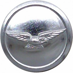 Royal Greek Yacht Club 16mm Chrome-plated Yacht or Boat Club jacket button