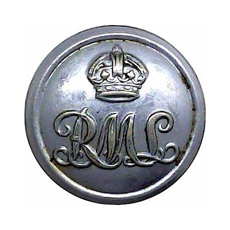 Island Sailing Club - Lined - Roped Rim 21.5mm - Black Plastic Yacht or Boat Club jacket button