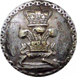 Royal Irish Rangers Belt Plate Badge Similar To Cap Badge Queen's Crown. Anodised Stable Belt, belt-plate or buckle
