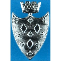 Stockport Borough Police Collar Badge Pre-1967  Chrome-plated UK Police or Prison insignia