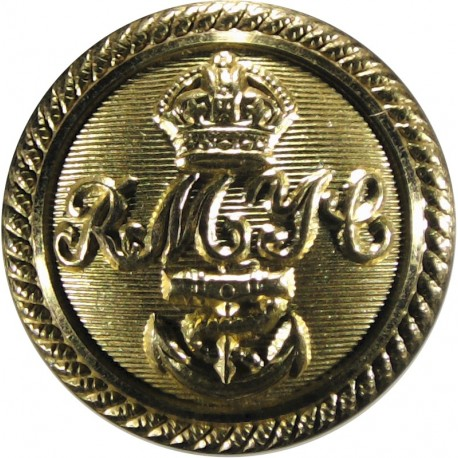 Royal Motor Yacht Club 23.5mm with King's Crown. Gilt Yacht or Boat Club jacket button