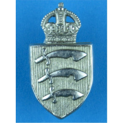 Police Shoulder / Collar Letter J Chrome-plated UK Police or Prison insignia