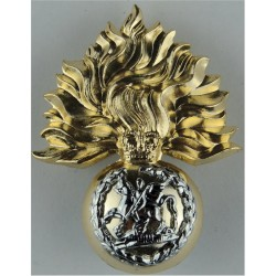 Royal Regiment Of Fusiliers Belt Plate Badge Similar To Cap Badge with Queen Elizabeth's Crown. Anodised Stable Belt, belt-plate