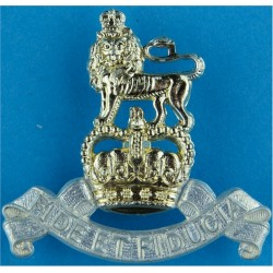 Royal Army Pay Corps Belt Plate Badge Similar To Cap Badge with Queen Elizabeth's Crown. Anodised Stable Belt, belt-plate or buc
