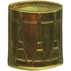 Drum (Drummer)   Brass Musician, piper, drummer or bugler insignia
