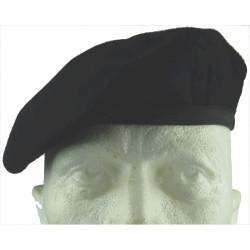 Beret: Dark Blue - British Army - No Badge Black Head-Band   Hat, cap or helmet