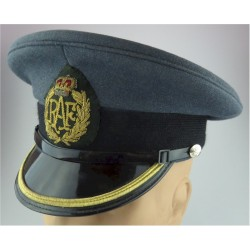 No.1 Dress Cap - Royal Army Medical Corps Female Pattern with Queen Elizabeth's Crown. Anodised Hat, cap or helmet