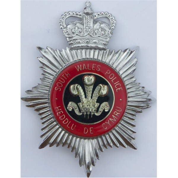 UK Police & Prison Hat Badges