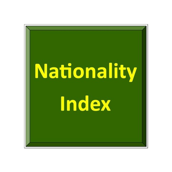 Nationality Index