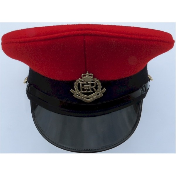 British military hats, caps, berets and police Bobby helmets