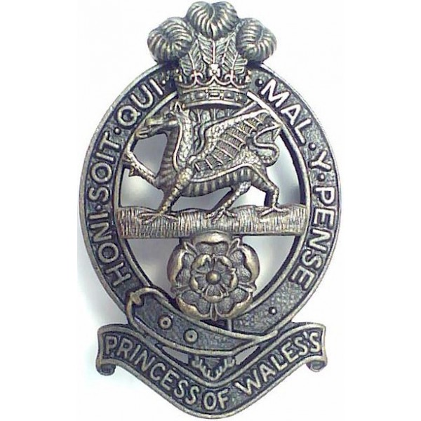 Army Other Ranks' Metal Cap Badges