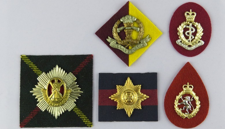 Cap Badge Backings