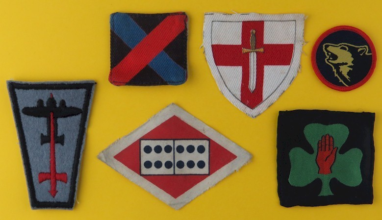 Military Formation Signs (Army Unit Arm Badges)