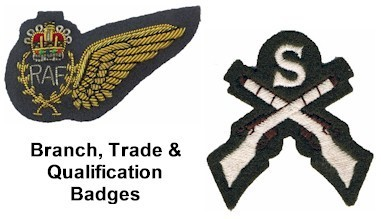 Branch, Trade & Qualification Badges For Sale