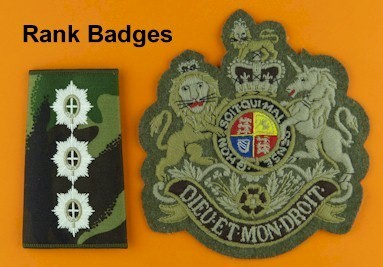 Rank Badges
