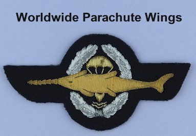 Worldwide parachute wings - Airborne and Special Forces insignia